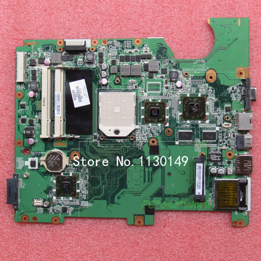 ФОТО 577067-001 Free Shipping FOR HP CQ61 G61 laptop motherboard series DA00P8MB6D0 DDR2 with FULL