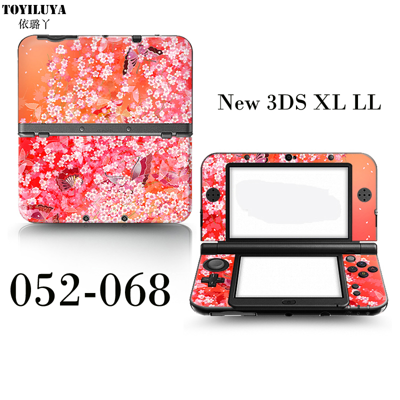 Hot Sell New Doraemon Protective Skin Sticker For Japanese Style - Windy New 3DS XL LL For New 3DS XL LL Game Handle