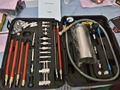 Fuel Injection System Cleaning Throttle Toolkit GX100 for auto Fuel Injector and Cleaner Machine