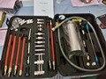 Sistema de Injeção de combustível Kit De Ferramentas de Limpeza Do Acelerador GX100 para auto Injector De Combustível e Limpador Máquina