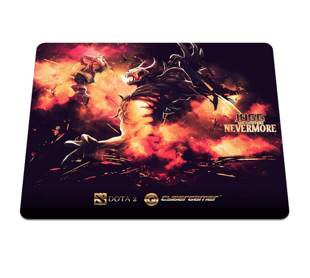 New Direct selling dota 2 Background Pattern Durable Gaming Optical Computer Mouse Mat Silicone Anti-slip Notebook Mouse Pad