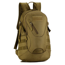 Mens Mountaineering Backpack Leisure Waterproof Nylon Bag Molle School Trekking Ripstop Woodland Tactics Gear