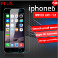 2016 New 0.26mm 9H For iphone 6 plus temper glass protector film HD glass Screen Protector film on the iPhone 6s plus