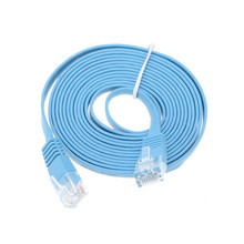 RJ45 Cavo Ethernet Piatto CAT6 0.3m 0.5m 1m 2m di Rete Gigabit Lan Patch Router Cavo per computer Portatile Del PC Computer Interruttore Modem PS3 PS4(China)