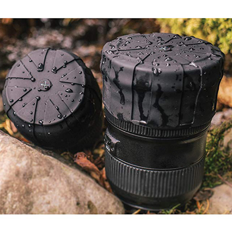 Lens-Cap Protector Len-Cover Camera DSLR Universal Silicone for 60-110mm Scratch-Proof