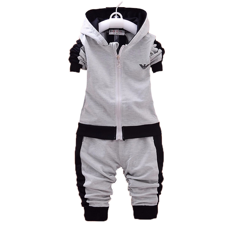 2018 Baby Girls Clothing Set New Baby Boys Set Autumn Long Sleeve Hooded Sweatshirts+Pants 2PCS Warm Sport Suit Kids Clothes mother nest 3sets lot wholesale autumn toddle girl long sleeve baby clothing one piece boys baby pajamas infant clothes rompers