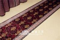 Mingxin 2,5x10 футов ручной работы Классическая ковровой дорожкой ручной работы бегун Шелковый персидский прихожей лестницы ковры для коридора к