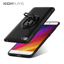 Slim Shockproof Phone Protection Case For Xiaomi Mi 5C Mi5 Mi 5S Mi5S Plus Case Luxury Perfect Cover Shell Magnetic Ring Cover