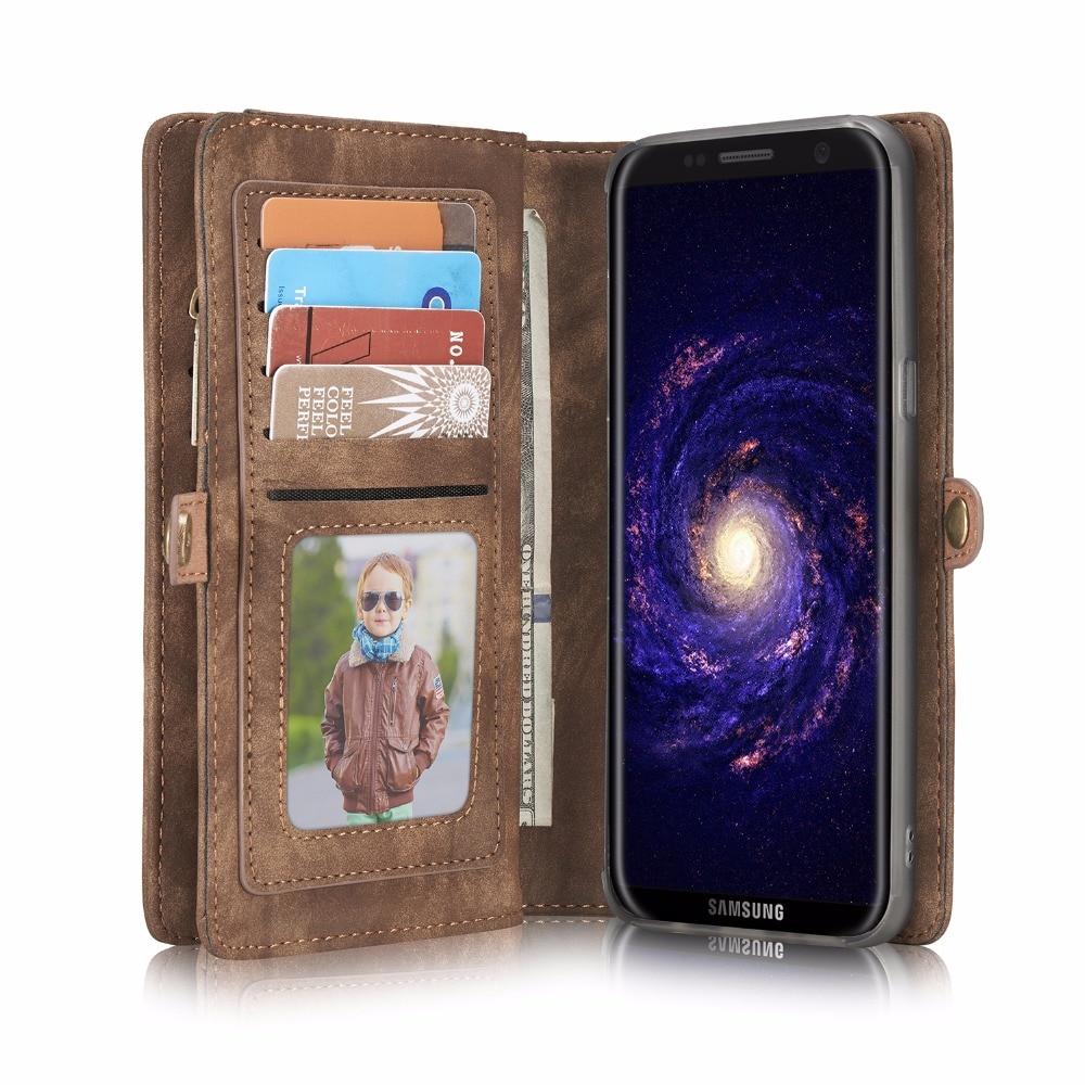 CaseMe Luxury Wallet Case for Samsung Galaxy S7 / S7 edge