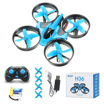 For JJR/C H36 Mini Drone Headless Mode RC Drone Quadcopters One Key Return RC Helicopter kids Toy 1