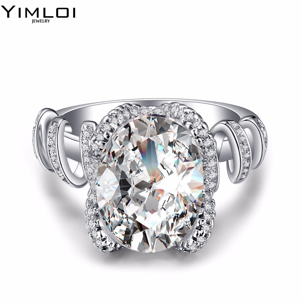 Fashion Stainless Steel Crystal Ring Female Titanium Wedding Ring For Women  Niba Store Rdd029(china