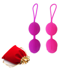 Silicone Vaginal Chinese Balls Sex Toys For Women Geisha Love Smart Kegel Trainer Shrinking Ball Vibrator Pussy