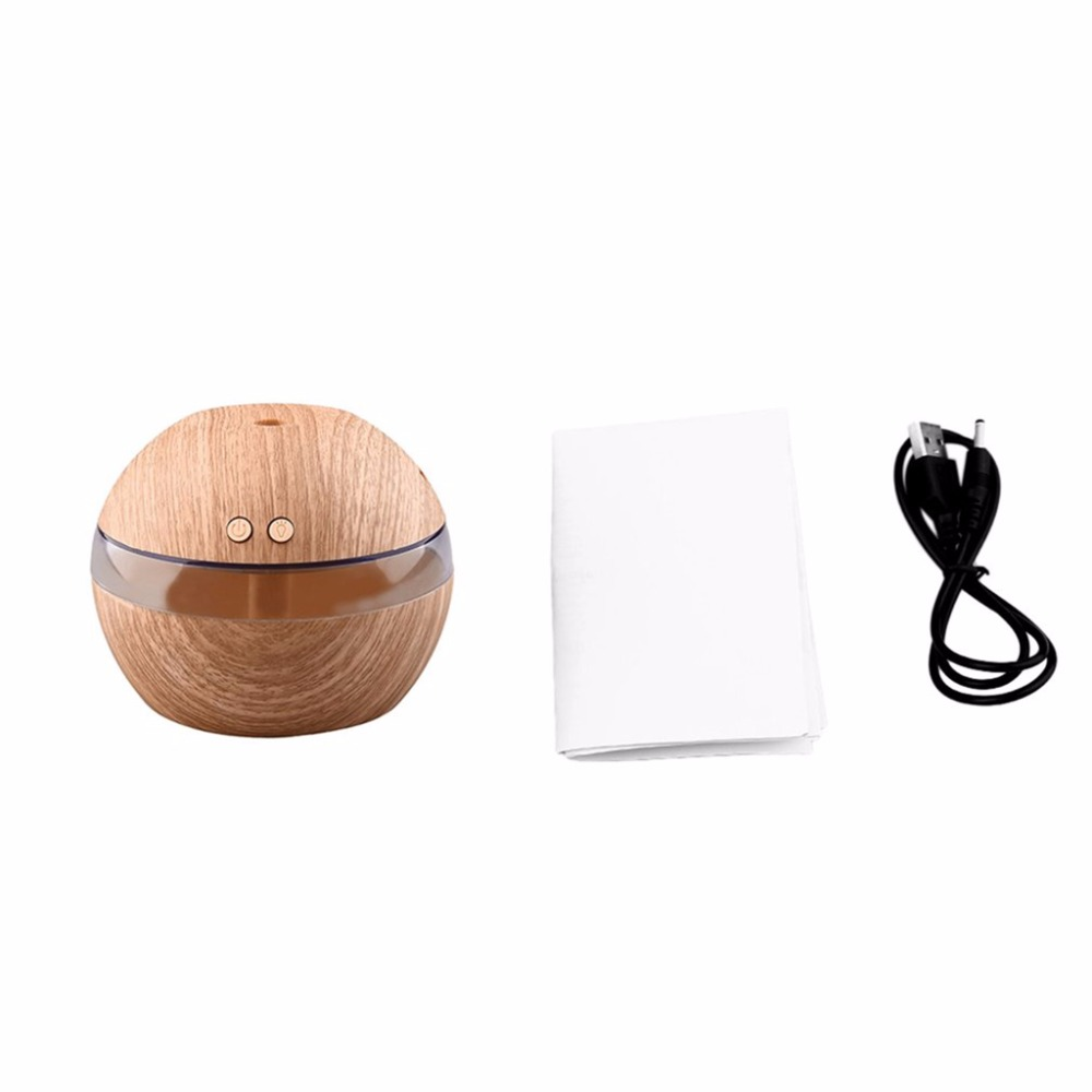 USB LED Essential Oil Ultrasonic Aroma Humidifier Diffuser Aromatherapy Purifier hot sale humidifier aromatherapy essential oil 100 240v 100ml water capacity 20 30 square meters ultrasonic 12w 13 13 9 5cm