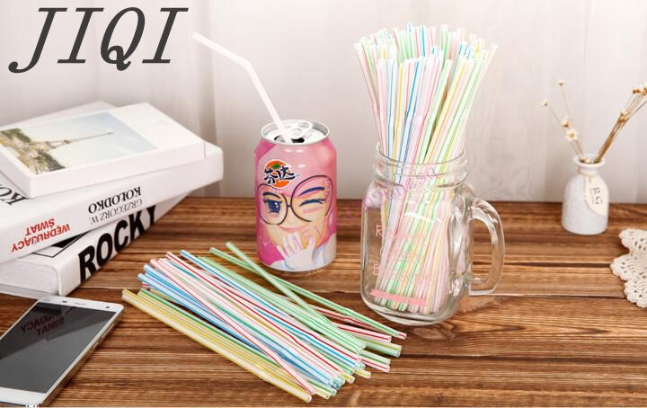 Disposable straw Tea with milk Soybean Milk juice cup Long straw environmental protection 5pcs cute long handle plastic coffee milky tea juice stirrer