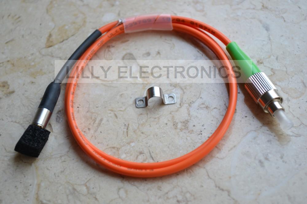 405nm 5mW Pigtail Fiber Laser 62.5/125um FC/UPS Fiber Cable пежо 405 масляный насос