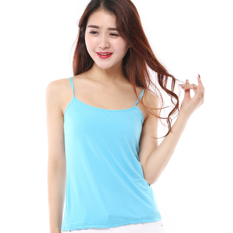 2018 Hot Knit Tank Tops Women Camisole Vest Simple Stretchable V Neck Slim Sexy new