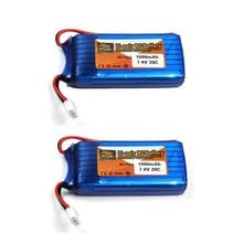 2pcs lot 7 4V 1000mAh battery for WLtoys V912 WLtoys V262 WLtoys V353 battery WLtoys Parts