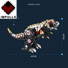 remote control dinosaur kids toy Cool light music intelligent children RC robot Tyrannosaurus mechanical war dragon boy toys remote control tyrannosaurus velociraptor giganotosaurus rugops rc walking dinosaur toy with shaking head light sounds