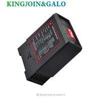 220 В, 110 В, 12 В, 24 В, одноканальный Индуктивный детектор, детектор для автомобиля MAG, автоматический шлагбаум, Открыватель ворот