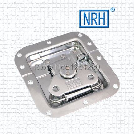 metal hasps John Lone butterfly lock nasal air box lock cold rolled steel fastener box clasp lock catch hardware free shipping metal hasp toolcase stainless steel lock box clasp equipment airbox instrument adjustable buckle fastener hardware