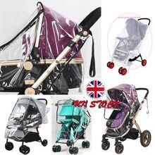 Детская коляска, дождевик, универсальная коляска, дождевик, прозрачный дождевик, защита от ветра