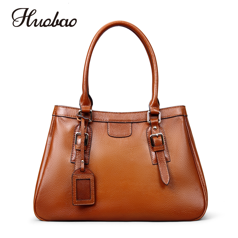 Women Genuine Leather Handbags Luxury Designer Ladies Shoulder Bags 100% Soft Cow Leather Vintage Women Messenger Bags Tote Bag vintage women genuine leather handbags ladies retro elegant shoulder messenger bag cow leather handmade womans bags