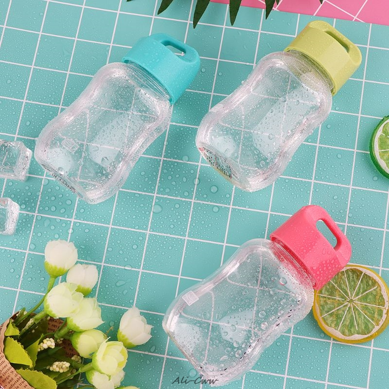 200Ml Mini Cute Water Plastic Water Bottle For Children Portable Leakproof Small
