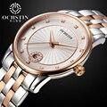 Relogio Feminino Reloj Mujer Acero Inoxidable Ultra delgado Reloj de Señoras Reloj de Pulsera de Cuarzo de Zafiro de Moda Casual Relojes de Las Mujeres