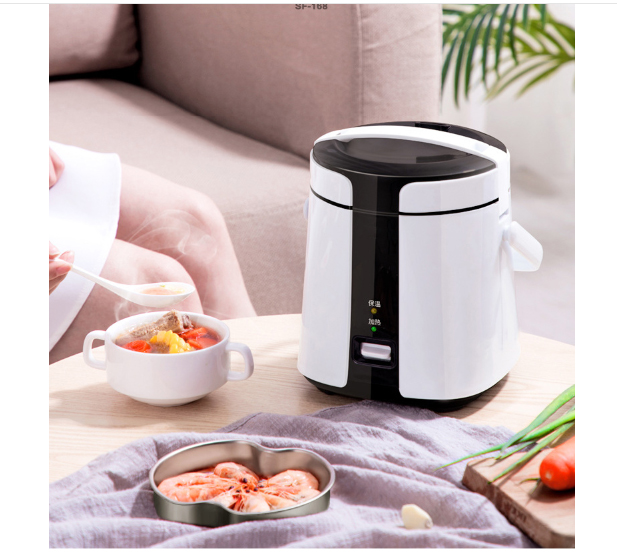 Electric rice box plugged heat preservation magic device automatically cook Double bravery 1.2L Household appliances