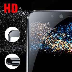 Image 5 - Cristal templado 5D para Samsung Galaxy A7 J4 J6 + J8 A6 A8 2018 Protector de pantalla de vidrio completo para Samsung A6 A8 J4 J6 Plus 2018