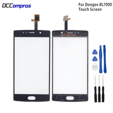 Original Touch Screen For Doogee BL7000 Touch Panel Glass Replacement For Doogee BL7000 Touch Panel Free Tools touch panel original for gt gunze usp 4 484 038 g 28 for touch membrane screen touch pad