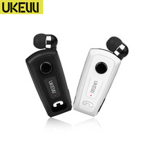 Novo UK-E20 negócio portátil sem fio bluetooth fone de ouvido tipo telescópico com microfone pk fineblue f910 f920 f930 f960 f980