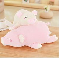 soft cotton plush toy prone pig plush toy cute pig large 50cm soft doll pillow Christmas gift b1211