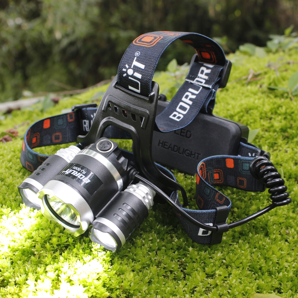 BORUIT 8000LM RJ-5000 XML T6 R2 Headlight 4-Modes L2 LED Headlamp Power Bank Head Torch Hunting Camping Flashlight 18650 Battery sitemap 41 xml