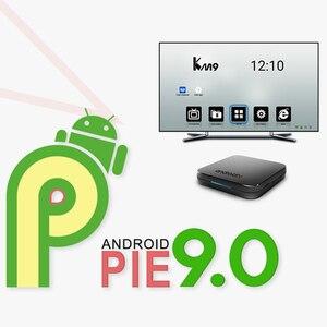 Image 4 - Iptv frança árabe km9 android 9.0 smart tv box 4g 32g/64g 1 mês iptv bélgica marrocos países baixos turquia argélia francês ip tv