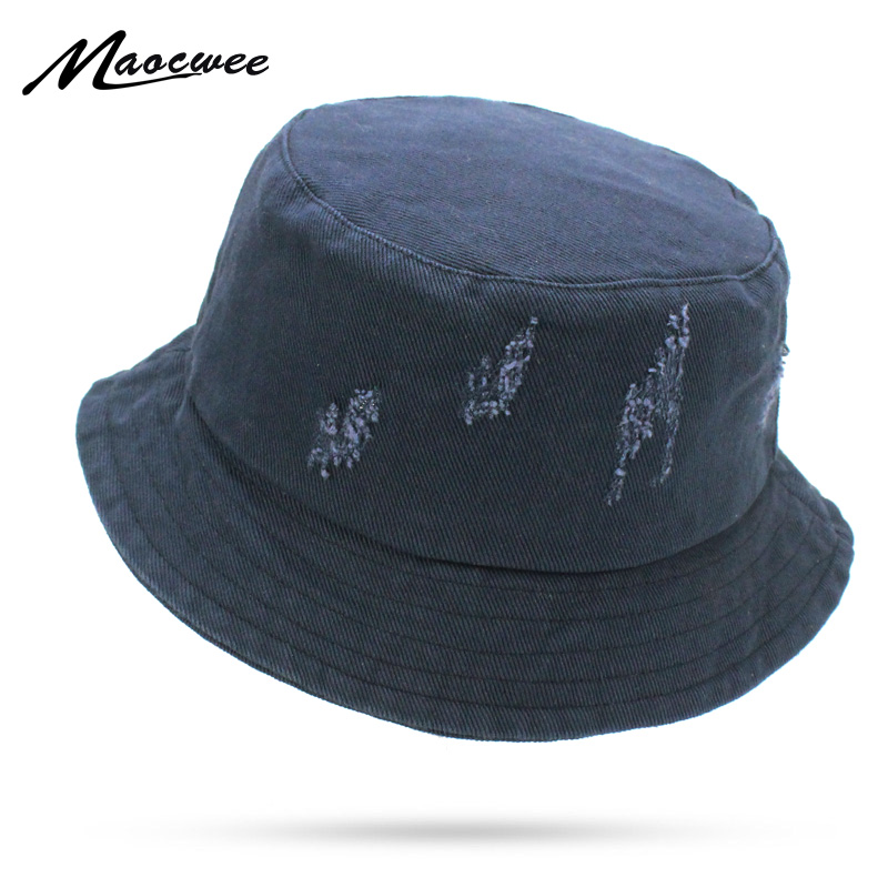 d8f44293498 2018 Plain Solid Navy Black White Bucket Hats Men Reversible Two Sides Can  Wear Sun Bob Cap Comfortable Fisherman Hat Cowboy-in Bucket Hats from  Apparel ...