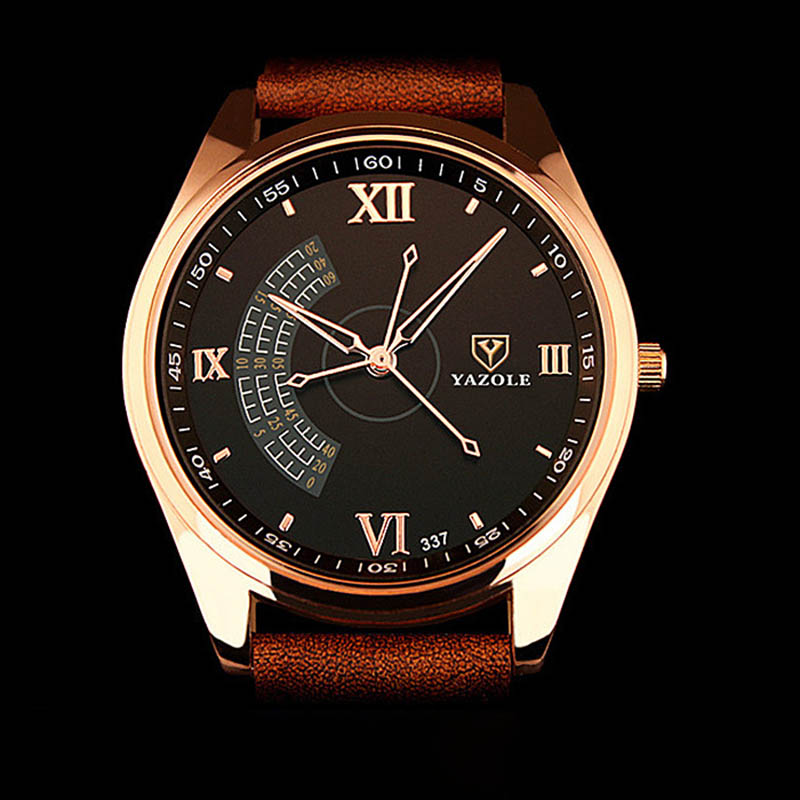 Watches Quartz Watches Sporting Wal-joy Brand 2018 Fashion Quartz Watch For Men Personality Big Dial Watches Waterproof Weaving Leather Band Minimalist Watch