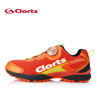 Clorts BOA Lacing Men Running Shoes Trail Shoes For Run Light Runner Sport Shoes Shock Absorption