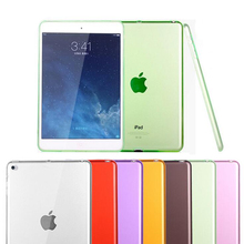 Soft TPU Cover for Apple iPad 9.7 inch 2017 Case Silicone Transparent Slim Clear Cover for Apple iPad 9.7 2018 Case