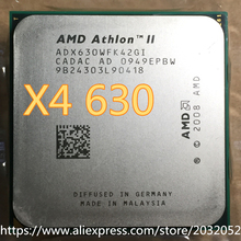 Procesador de CPU AMD Athlon X4 630x4 630, 2,8 GHz, 2MB, Quad-Core, cpu de escritorio AM3, disponible