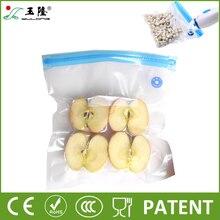 Высокое качество вакуумные пакеты для хранения продуктов с насосом многоразовые вакуумный упаковщик питание пакетов кухня организатор 25 шт./компл.