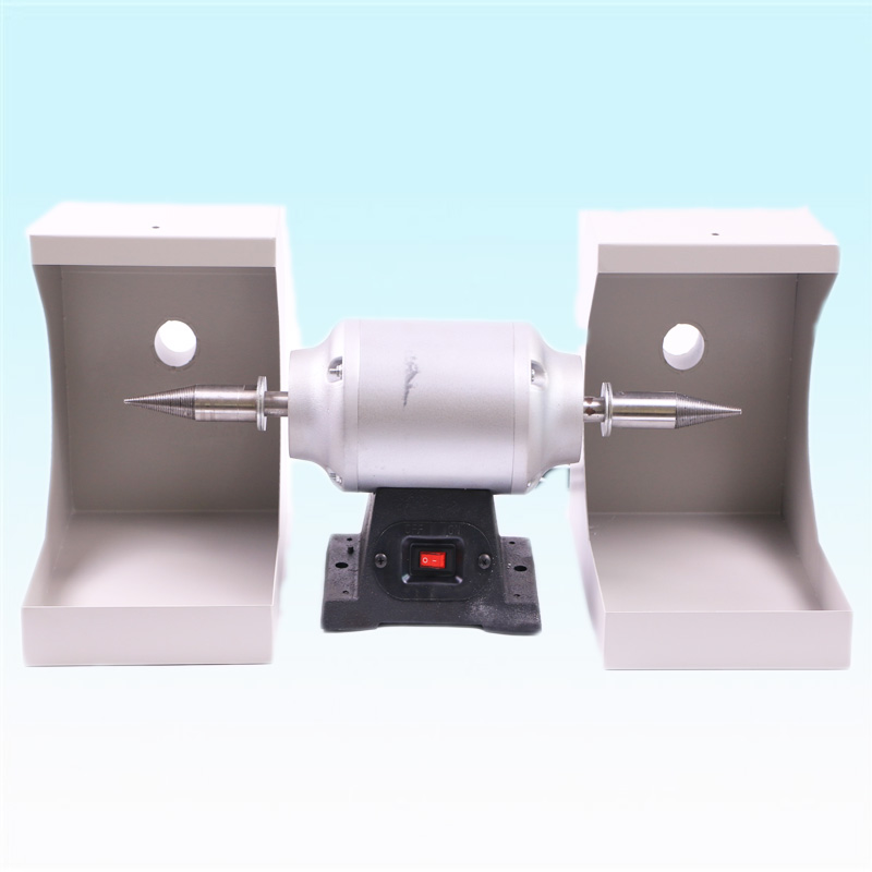 1 Piece Dental Lab Equipment CE Approved Cutting and Polishing Lathe with Low Noise & Stepless Speeds for Polishing Casting