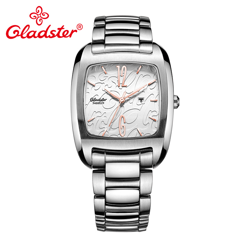 Gladster Luxury Japan CITIZEN 9T13 Lady Watch Sapphire Crystal Stainless Steel Female Wristwatch Shading Dial Women Analog Clock цена 2017