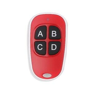 Image 4 - Kebidu 4 bouton porte ouvre porte de Garage télécommande 433MHZ Code roulant haute sensibilité large gamme efficacité