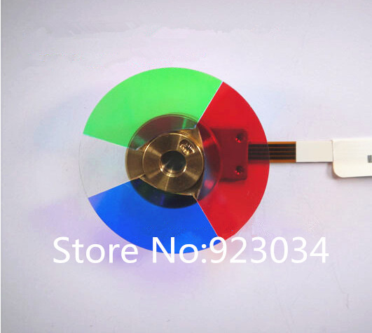 Wholesale Projector Color Wheel for Benq sl705x Free shipping projector color wheel for benq w1000 p n oc cw 6ba ad176