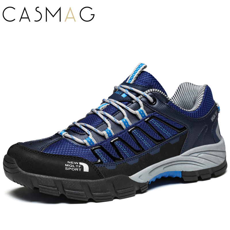 CASMAG Men Non-slip Sport Running Shoes Male Outdoor Training Athletics Walking Shoes Camping Sneakers zapatillas hombre