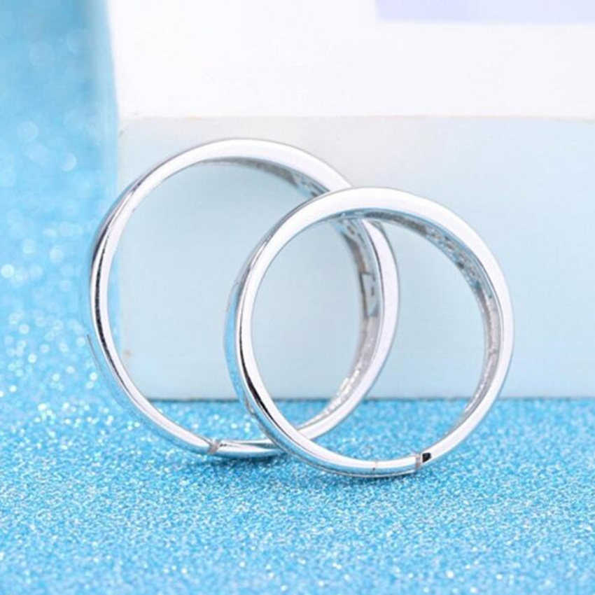 Couple ring men and women symbol of popular silver Colour jewelry men and women live adjustable mouth adjustable wedding ring