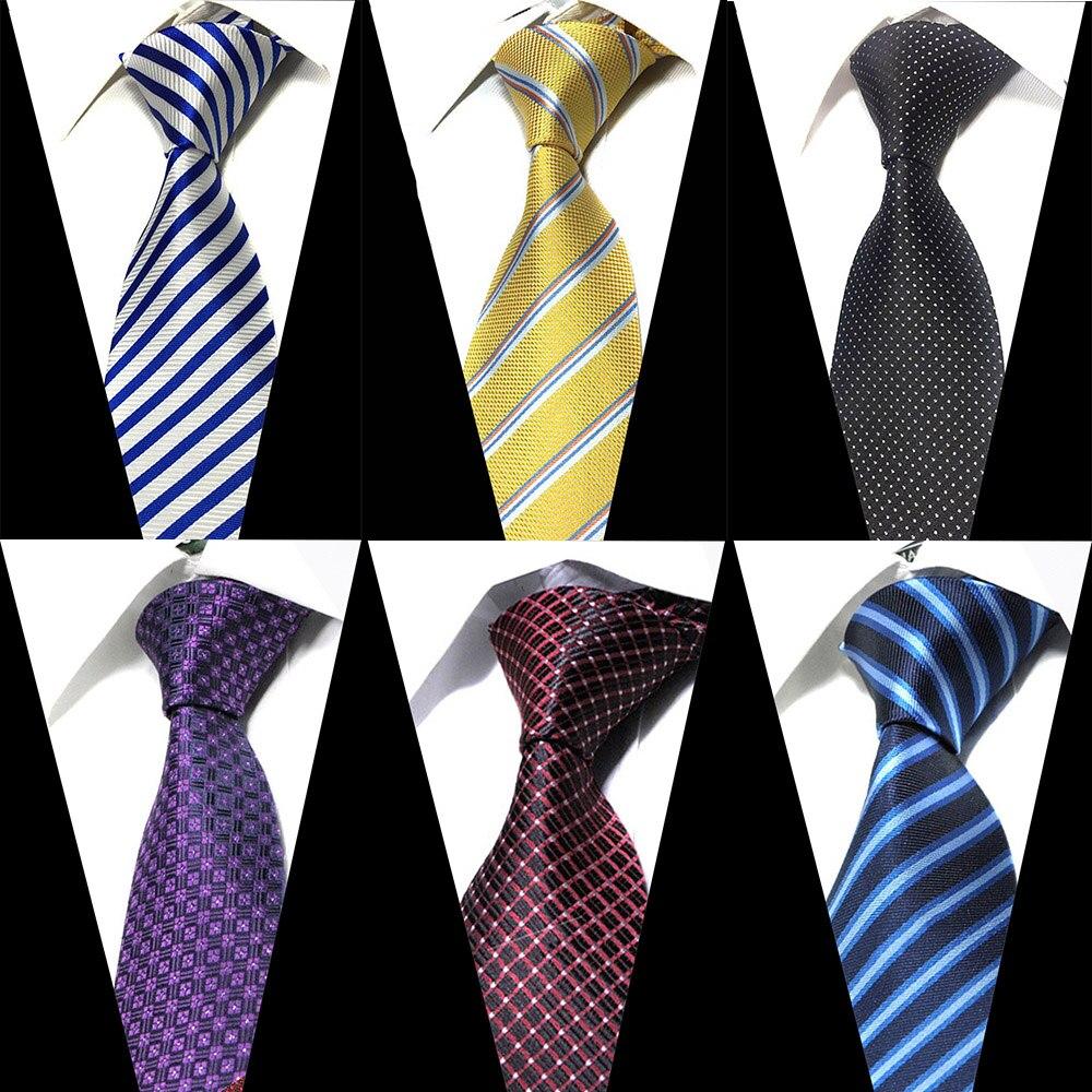 Formal Extra Long Size Necktie Groom Gentleman Ties Men Design Party 100%Silk Jacquard Gravata Slim Arrow 8cm Silk Tie