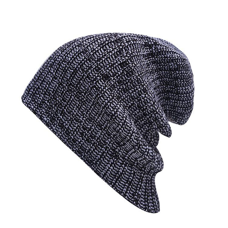 Brand Winter Hat For Men   Skullies     Beanies   Women Fashion Warm Cap Unisex Elasticity Knit   Beanie   Hats Drop Shipping