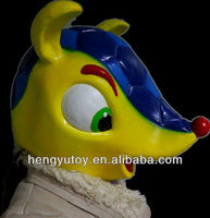 2014 Brazil World Cup Cosplay Costume Latex Armadillo Mask For Carnival